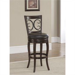 American Heritage Billards Taranto Counter Stool in Navajo and Tobacco