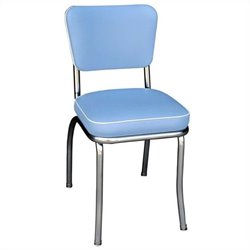 Richardson Seating Retro 1950's Diner  Dining Chair Bristol in Blue
