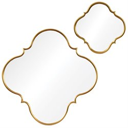 Renwil Nephel Decorative Mirror in Gold