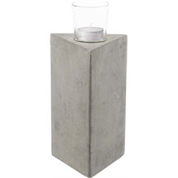 Renwil Element III Candle Holder in Gray