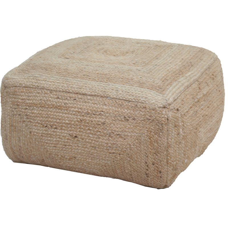 Renwil Mirdine Pouf in Natural