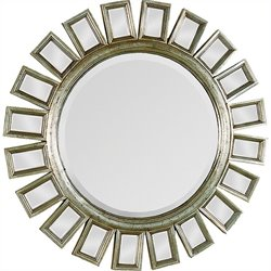 Renwil Carwyn Mirror in Antique Gold