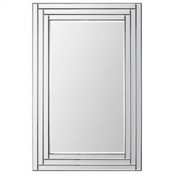 Renwil Edessa Mirror in Step Pattern Frame