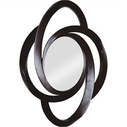 Renwil Amir Mirror in Dark Brown