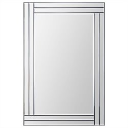 Renwil Baton Rouge Mirror in Step Pattern Frame