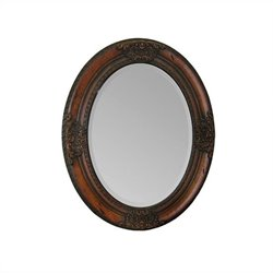 Renwil Cherry Chelseas Mirror in Cherry Wood