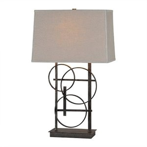 Renwil Aria Table Lamp in Antique Bronze