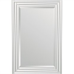 Renwil Brynn Mirror in Step Pattern Frame