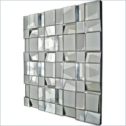 Renwil Quartz Mirror in Silver