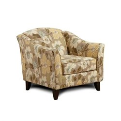 Chelsea Hudson Accent Chair in Daintree Flax