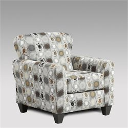 Chelsea Talbot Accent Chair in Granite
