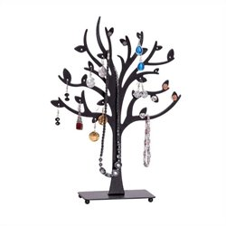 Mele Lisa Tree Jewelry Stand in Black