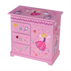 Mele Krista Girl's Musical Ballerina Jewelry Box