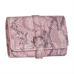 Mele Lela Travel Jewelry Wallet in Pink