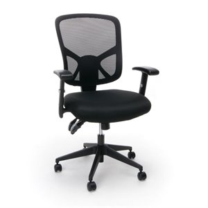Essentials Ergonomic High Back Mesh Office Chair in Black