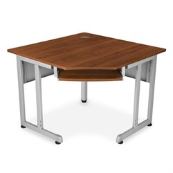OFM Corner Computer Desk in Cherry