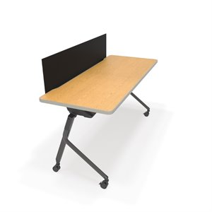 OFM Mesa Privacy Panel Folding Table 59