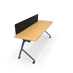 OFM Mesa Privacy Panel Folding Table 71