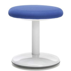 OFM Orbit Fabric Active Stool in Blue