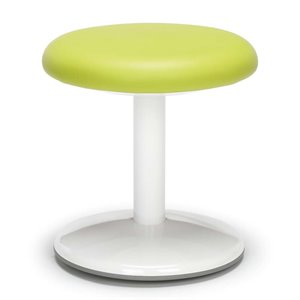 OFM Orbit Faux Leather Active Stool in Green