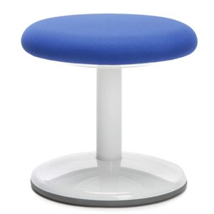 OFM Orbit Fabric Static Stool in Blue