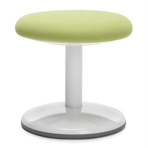 OFM Orbit Fabric Static Stool in Green