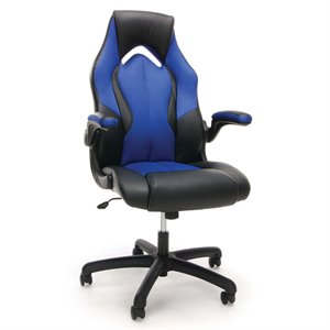 OFM Essentials Leather Racing Style Swivel Gaming Chair (C)