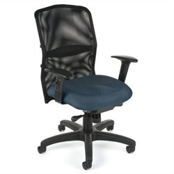 OFM Airflo Executive Chair in Blue