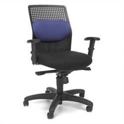 OFM Executive Knee Tilt With Blue Mesh