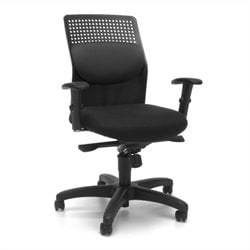 OFM Executive Knee Tilt With Gray Mesh