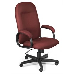 OFM Hi-Back Executive Office Chair in Wine