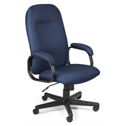 OFM Hi-Back Executive Office Chair in Navy