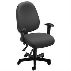 OFM 6 Function Executive Task Chair in Gray