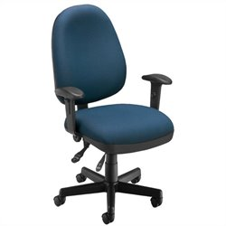 OFM 6 Function Executive Task Chair in Navy