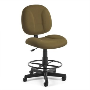 Office Chair with Drafting Kit in Taupe