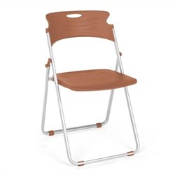 OFM Folding Chair That Folds in Caramel