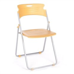 OFM Folding Chair That Folds in Butterscotch