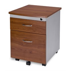 OFM Mobile Pedestal File Box in Cherry