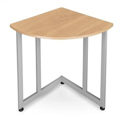 OFM Quarter Round Utility Table in Maple
