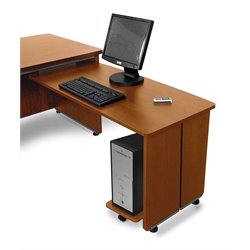 OFM Return For Executive Desk in Cherry