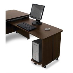 OFM Return For Executive Desk in Walnut