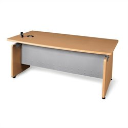 OFM Milano Executive Desk in Maple