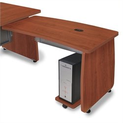OFM Milano Return For Executive Desk in Cherry
