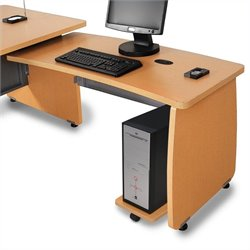 OFM Milano Return For Executive Desk in Maple