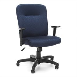 OFM Executive Conference Office Chair with Adjustable Arms in Navy