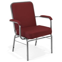 OFM Big and Tall Comfort Class Series Arm Chair in Wine