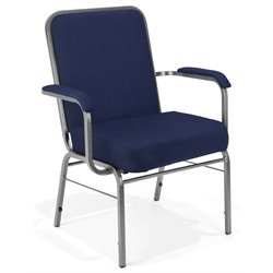 OFM Big and Tall Comfort Class Series Arm Chair in Navy