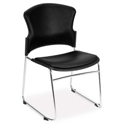 Multi-Use Vinyl Seat and Back Stacker in Black