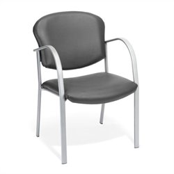 Contract Reception Chair in Charcoal