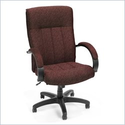 OFM Stature Series Executive High Back Conference Chair in Burgundy